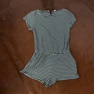 Urban Outfitters Striped Romper